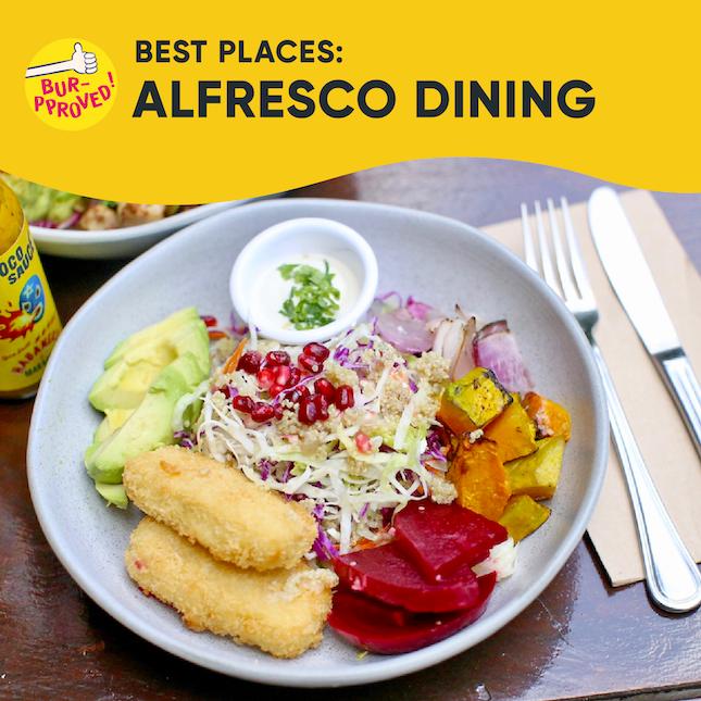 Best Alfresco Dining In Singapore