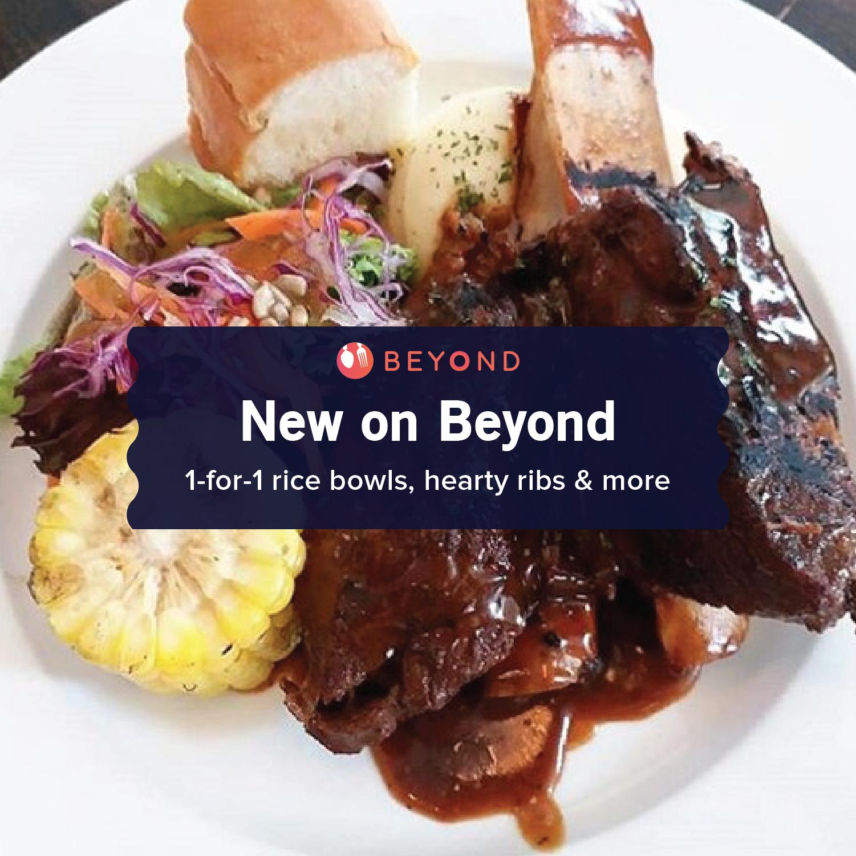 New on Burpple Beyond: January 2019