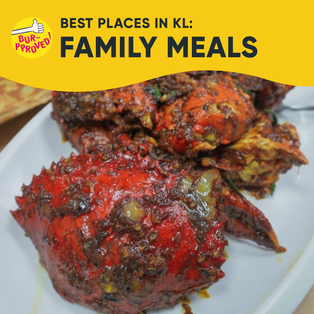 Best Places for Family Meals in KL