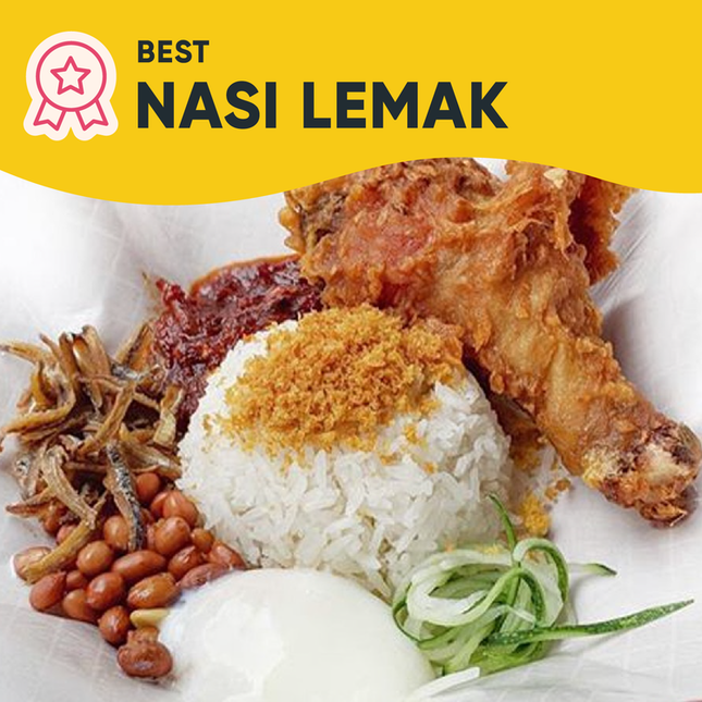 Singapore's Best Nasi Lemak