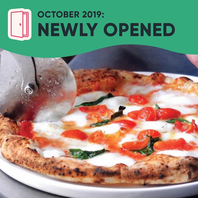 New Restaurants, Cafes & Bars in Singapore: October 2019