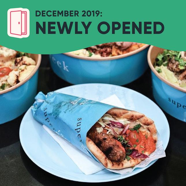 New Restaurants, Cafes & Bars in Singapore: December 2019