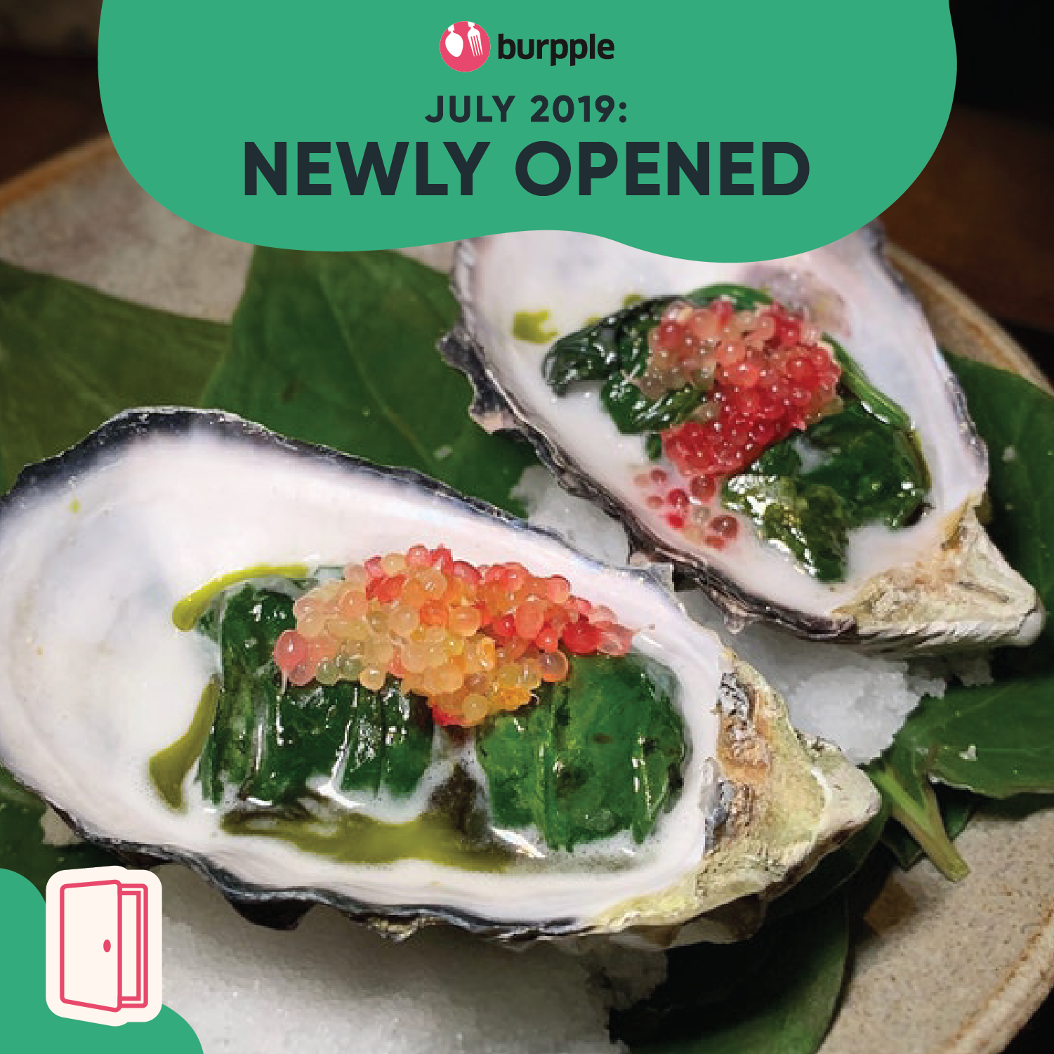 New Restaurants, Cafes & Bars in Singapore: July 2019