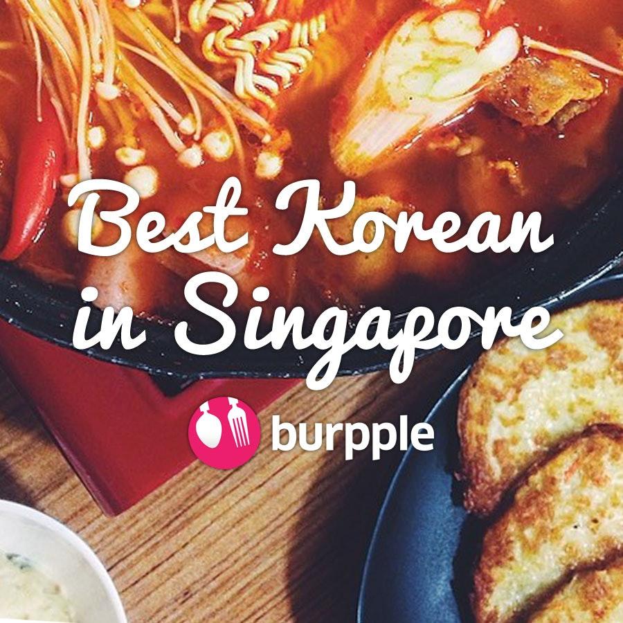 Best Korean Restaurants in Singapore