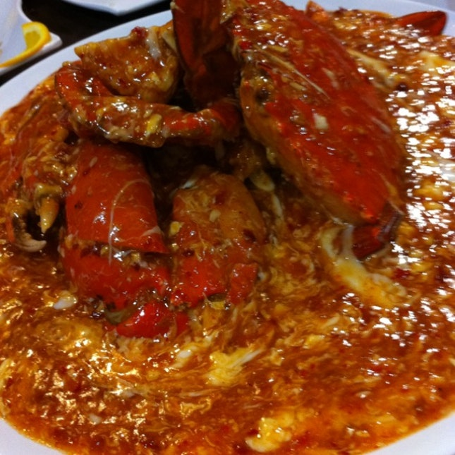 Chilli Crab!