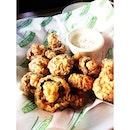 Some awesome fried mushroom #burpple