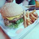 Big Hug Burger for Lunch!