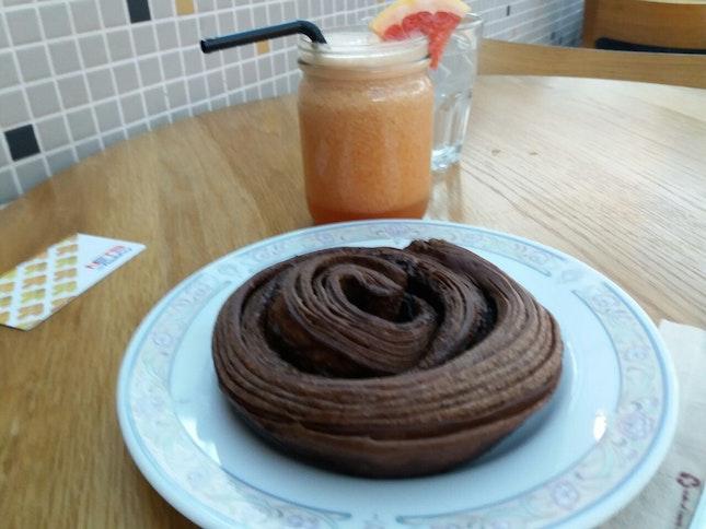 Chocolate Kouign Amann