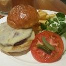 Bacon Swiss Cheese Burger
