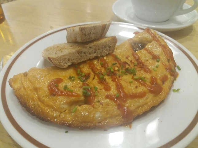 Chilli Crab Omelette