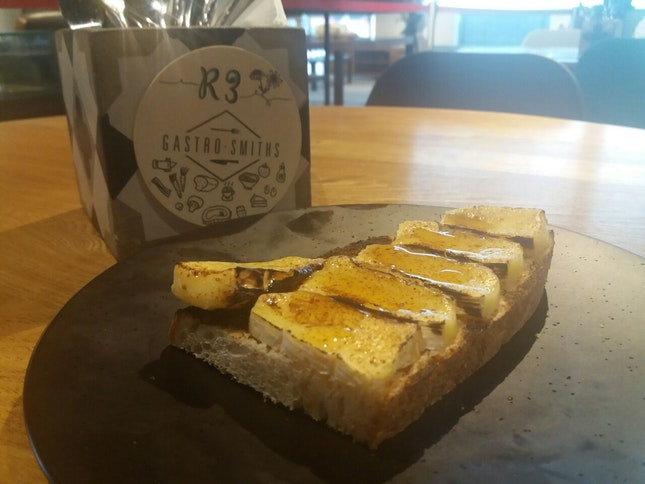 Camembert Rosemary Honey Toast