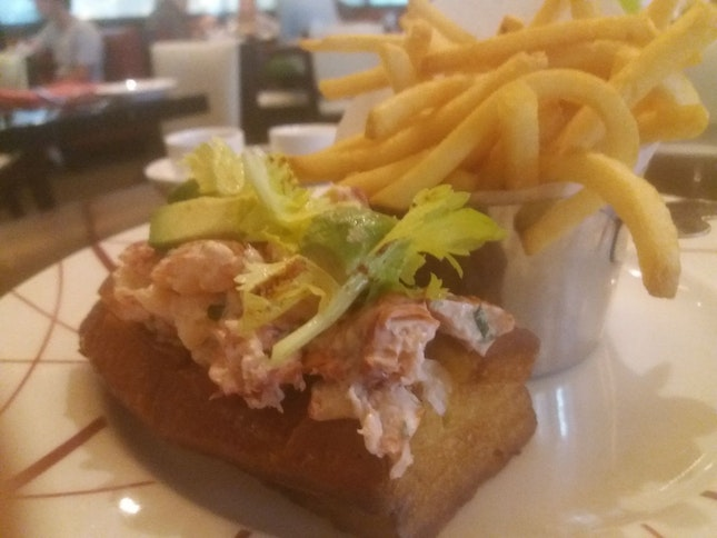 Maine Lobster Roll ($42)