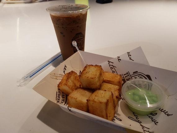 Pandan Kaya Toast