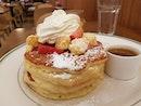 Strawberry Pancakes ($21)