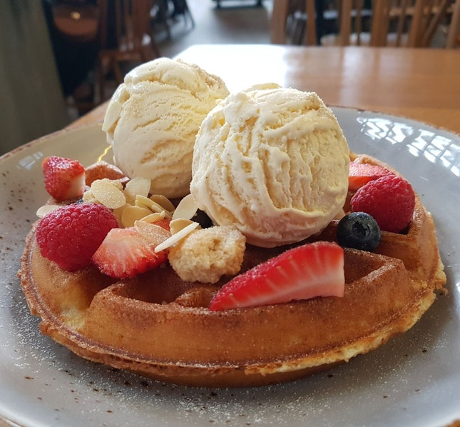 Buttermilk Waffle ($23)