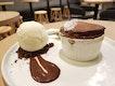 Chocolate souffle ($15)