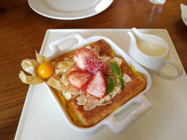 Bread & Butter pudding ($16)