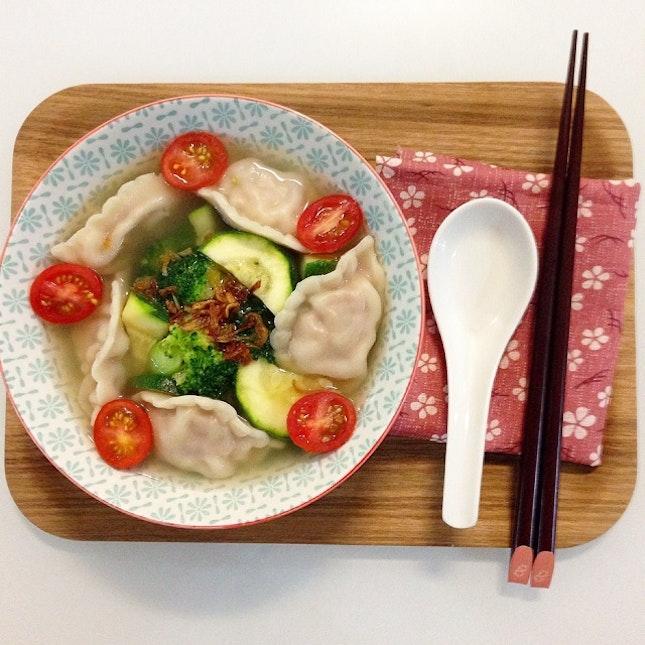 Lele Dumplings And Veg Soup