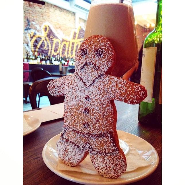 Gingerbread Man Goblet