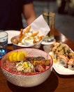 Foie Gras Truffle Yakiniku Donburi, Superstar Roll, Wham Fries