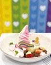 Rainbow Garden Strawberry Parfait.