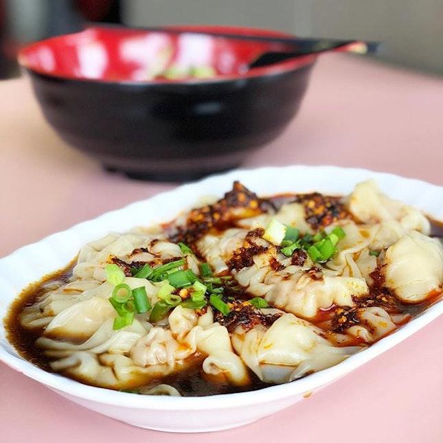 Sichuan Spicy Dumplings