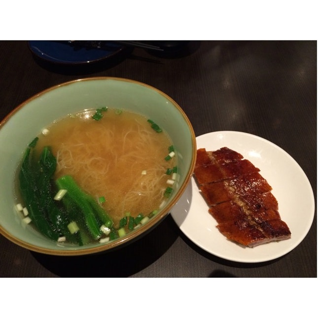 Roasted Duck Meat Noodle