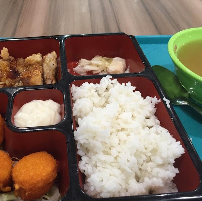 Scallop + Teryaki Chicken Set