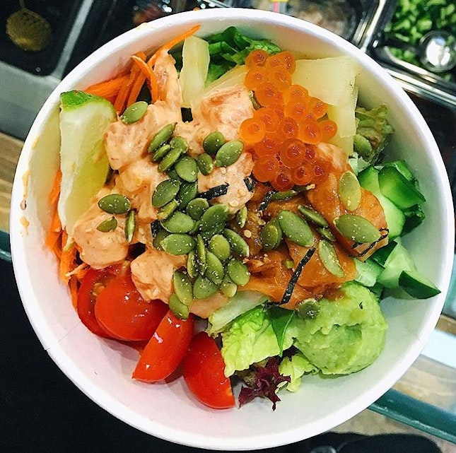For affordable $9.90 poke in Tanjong Pagar!