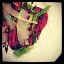 #nomnomnom #dinner #carpaccio
