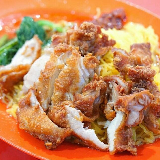Prawn Paste Chicken Noodle