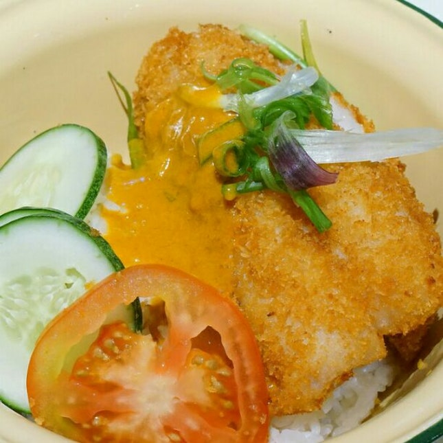 Curry Crispy Fish Cutlet
