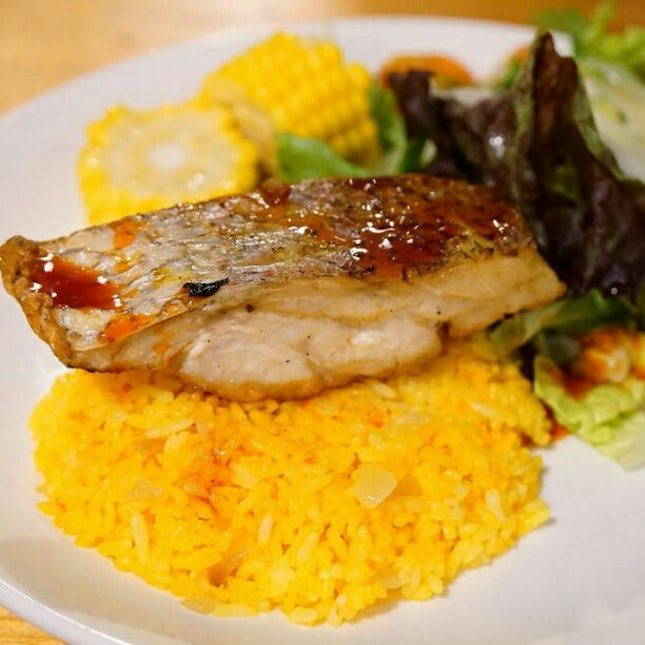 Wild Snapper with Butter Rice