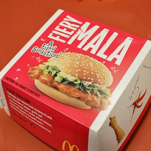 Fiery Mala Burger
