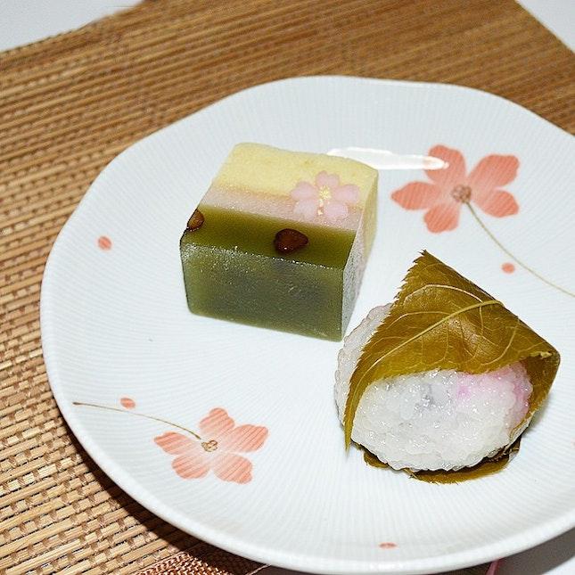 Sakura Mochi - Tried the Kamigata-fu version.