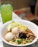 Speciality Dry Mee Sua Set ($5.20 with choice of drink, ala carte at $4).