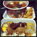 Lunch with mama's colleague ...👍#tgif #friday #lunch #21122012 #food #instaphoto