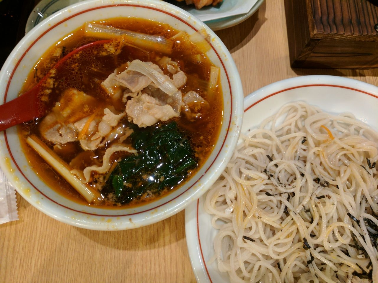 Curry Pork With Soba ($18)