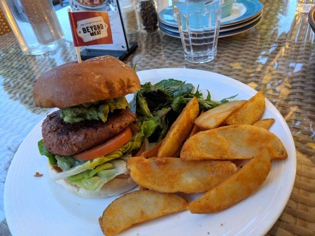 Beyond Vegetarian Burger