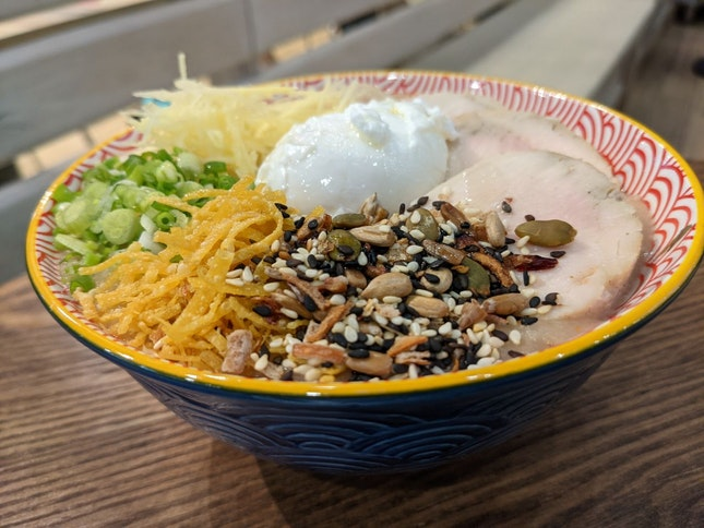 Bubur Ayam (Chicken Porridge)