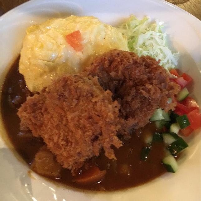 Potato Croquette Curry