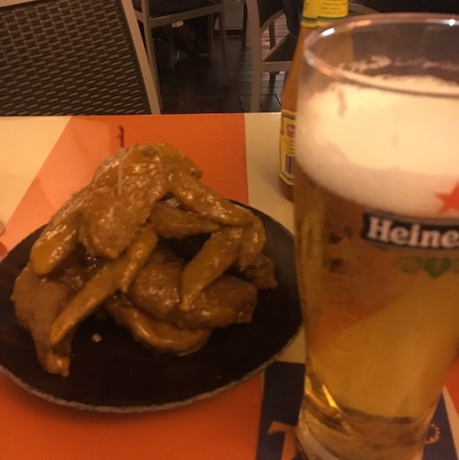 Spicy Wings, Heineken