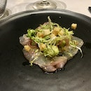 NZ Snapper Carpaccio