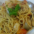 Spaghetti ala Tom Yum Goong