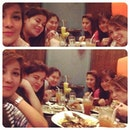 Longtime with these girls #dinner #welcomebackdenise #SuperCollageApp
