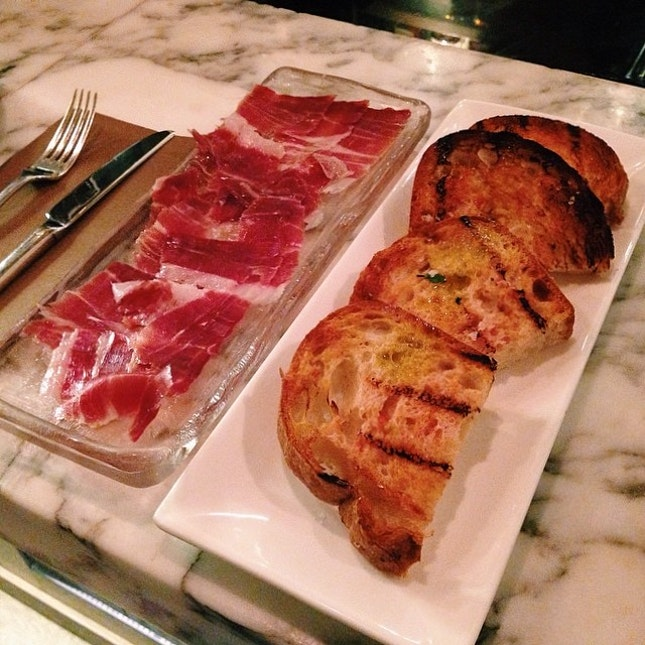 Iberico Jabugo ham 36mths #foodporn #burpple #opensnap #hk #spanish #tapa