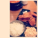 #chicken #rice #kimchi #koreafood #yummy #bonchonchicken #thailand #salad #siamcenter