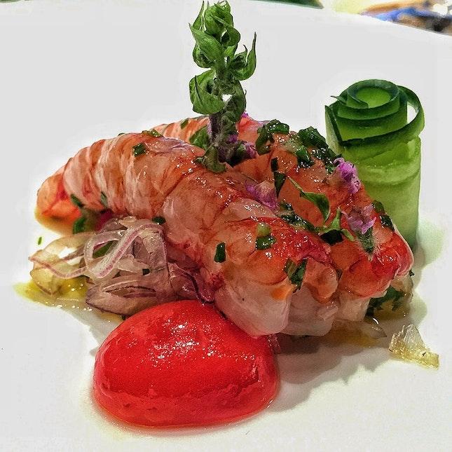 Raw Sicilian Shrimp