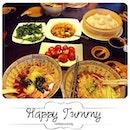 Big #lunch 😄 #yummy #delicious #foodgasm #instafood #kittencindy #kuliner #lamien #mie #xiaolongbao #koloke #veggie #muntofu #chinese #paradisedynasty #surabaya #weekday #happytummy #dietwhatdiet #dietstarttommorow