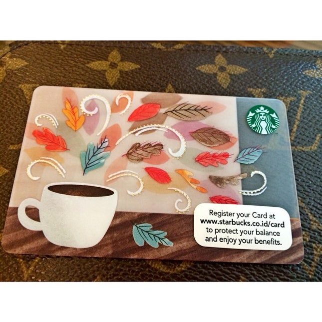 New card 💃 #starbucks #membercard #deposit #limited #edition #kittencindy #collection #java #coffee #indonesia #instagram #hobikopi